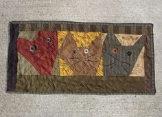 quilts made from Cheri Saffioti patterns | Cat Quilt/Pattern by Cheri