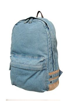 Carrot Ab-32001 Denim Backpack (Blue) Carrot. $39.99