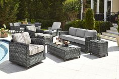 Lorca Outdoor Furniture by Beachcraft, Model 9852