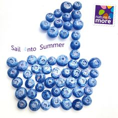 #Sail into #Summer with @natureandmore #Organic #Blueberries