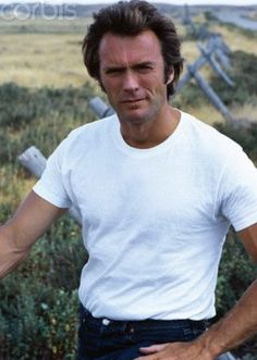 Clint Eastwood--he's the best--LOVE him! Clint And Scott Eastwood, Actor Clint Eastwood, Kevin Costner, Mel Gibson, Sean Connery, Jackie Chan, Film Director, Good Looking Men, Hollywood Stars
