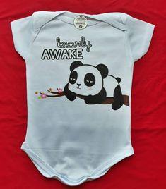 Body baby Panda 🐼  Para maiores informações entrar em contato via WhatsApp 11-94943-6375  #Rejestamparia #rejpersonalizados #Personalizados… Body, Onesies, Instagram, Clothes, Fashion, Stamping, Outfits, Moda, Clothing