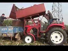 A new corn harvesting machine