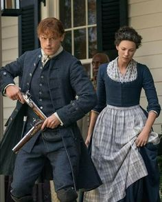 Outlander Jamie and Claire Jamie Fraser, Claire Fraser, Jamie And Claire, James Fraser Outlander, Sam Heughan Outlander, Gabaldon Outlander, Outlander Season 4, Outlander Tv Series, Outlander Casting