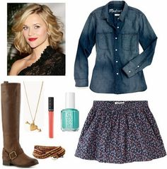 Allison teen wolf fashion inspiration