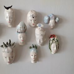 marta claret Wall hanging heads