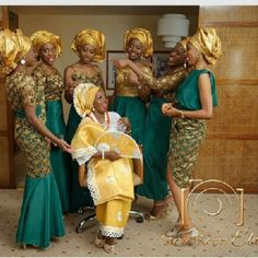 Aso Ebi Styles - Latest Aso Ebi Wedding Styles Lace in Nigeria - Colour Design Gallery for Guys Ladies & Pregnant Ladies - Aso Bella Naija Vol Series African Dresses For Women, African Attire, African Women, Ghanaian Fashion, African Fashion, Nigerian Fashion, African Style, African Lace, African Design
