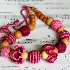 Teething necklace  Nursing Necklace for mom  by yolkaigolka, $20.00