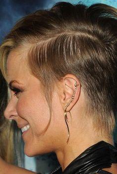 Brittany Daniel Ear Piercing