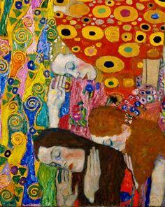 Gustav Klimt, Hope, II (detail), 1907