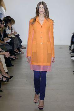 Jil Sander Spring 2008 Ready-to-Wear Fashion Show - Jennifer Messelier