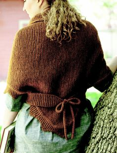 """Sontag Shawl (Traditional Danish Tie Shawl) I""""m going to knit one for Parker Pioneer days costume!"""