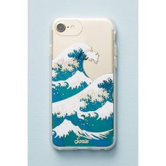 Sonix Wave iPhone 6/7 Case ($36) ❤ liked on Polyvore featuring accessories, tech accessories and blue