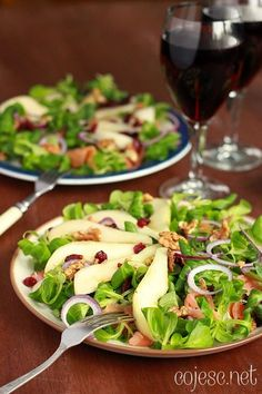 Healthy Snacks, Healthy Recipes, Sprout Recipes, Coleslaw, Us Foods, Soup And Salad, Appetizer Recipes, Food And Drink, Cooking Recipes