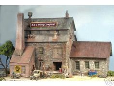Ho Model Buildings | New HO Scale Structures | Model Railroad Hobbyist magazine | Having ...