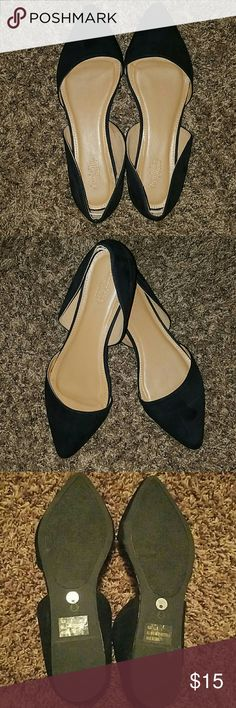 Charlotte Russe Black Flats Size 8 Charlottes Russe flats. Brand new. Never used only tried on. Charlotte Russe Shoes Flats & Loafers