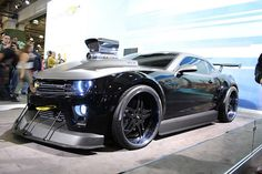 Custom chevy camaro by Dewayne Fennell, via Flickr