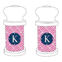 personalized salt and pepper shakers