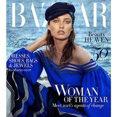 Harper's Bazaar Australia December 2016 Karmen Pedaru by Sylvè Colless ❤ liked on Polyvore featuring magazine