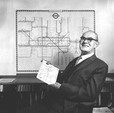Harry Beck designed the iconic London Underground tube map in 1931. Most other urban and metro maps across the world are based on his original idea.