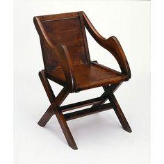 ENGLAND - PROGRESSIVE DESIGN: REFORMERS AND INNOVATORS 1830 - 1901 Oak Chair / London, England (possibly, made) / 1839-1841 / Augustus Welby Northmore Pugin, designer