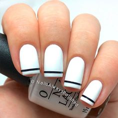 Best White Nail Polish and Trends to Try Right Now ★ See more: naildesigns. - - Best White Nail Polish and Trends to Try Right Now ★ See more: naildesignsjourna. French Nails, French Manicures, French Pedicure, French Toes, Black French Manicure, Nail Polish Designs, Nail Art Designs, Nails Design, Pedicure Designs