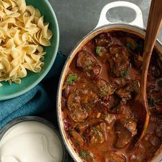 Hungarian Goulash Recipe - now i am ready for winter time :-) 10/6/2013 making with mash pots and ofc changing around the recipe some :-) can't wait for dinner <3