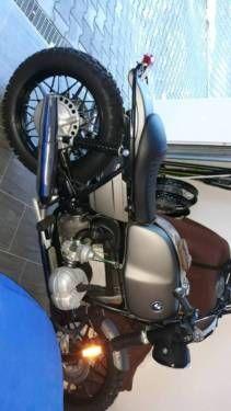 Hallo gebe meine Scrambler ab , alles neu schwarz matt gepulvert, Lackteile Anthrazit matt neu,...,BMW R 100 S Scrambler Tausch BMW CSI mgl in Bayern - Zachenberg