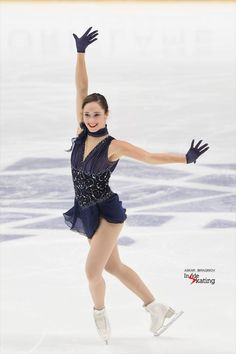 Kaetlyn Osmond  https://www.facebook.com/InsideSkating