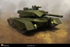 EDF Main Battle Tank for Red Faction: Guerrilla by Kemp Remillard Futuristic Motorcycle, Futuristic Art, Futuristic Vehicles, Earth Defence Force, Image Digital, Cool Tanks, Sci Fi Ships, High Resolution Wallpapers, Battle Tank