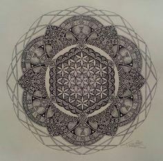 Sacred mandala. future tattoo.