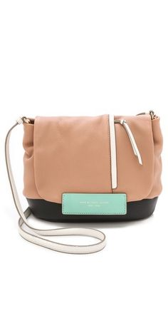 Marc by Marc Jacobs Round the Way Girl Colorblock Messenger Bag | SHOPBOP