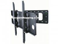 MonopriceTitan Series Full Motion Corner Friendly Wall Mount For Large - Inch TVs Displays, Max 125 LBS. to Black Tv Wall Brackets, Tv Wall Mount Bracket, Wall Mounted Tv, Best Tv Wall Mount, Full Motion Wall Mount, 60 Inch Tvs, Swivel Tv Wall Mount, Concrete Bricks, Tv Display