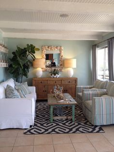 Ocean theme living room ideas on pinterest beach for Ocean themed living room ideas