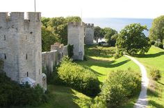 The medieval city of Visby, Gotland, Sweden Antarctica Destinations, Destinations D'europe, Travel List, Solo Travel, Lonely Planet, Cool Places To Visit, Places To Go, European Destination, Fishing Villages