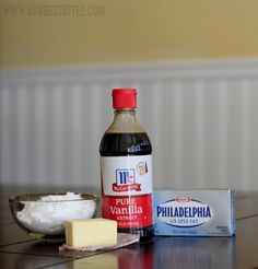 cream cheese frosting ingredients