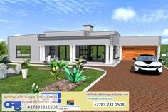 RDM5 House Plan No. W2446 3d House Plans, 4 Bedroom House Plans, Beautiful House Plans, Beautiful Homes, Flat Roof House Designs, Site Plans, Roof Plan, Cool Furniture, My House