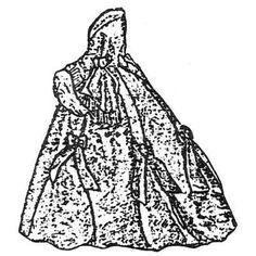 Amazon Drygoods - Polonaise Dinner Dress c. 1861, $21.75 (http://www.amazondrygoods.com/products/polonaise-dinner-dress-c-1861.html)