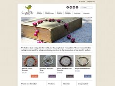 #Portfolio #Design #insimple Here is a beautiful ecommerce site that we designed for www.crystalbestyle.com. see our portfolio here: http://innovationsimple.com/portfolio/