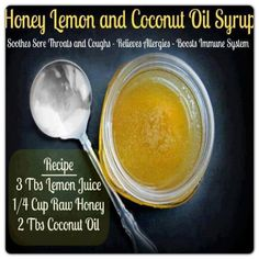Natural cough and sore throat remedy