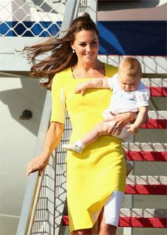 Kate, William e George arrivano in Australia - VanityFair.it