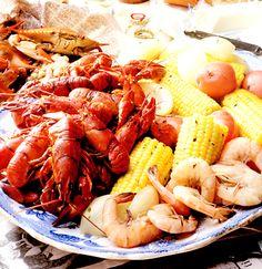 Kräftor, räkor och krabbor på cajunvis | Recept.nu