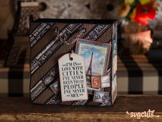 Zig-Zag Bag from the Travel the World SVG Kit #papercrafts