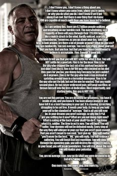 This is a motivational letter from Anon (Anonymous), and applies to anybody who is finding it hard to make something of themselves right now. Need Motivation, Fitness Motivation, Self Development, Personal Development, Life Inspiration, Fitness Inspiration, Motivational Letter, Serious Quotes, Gym Quote