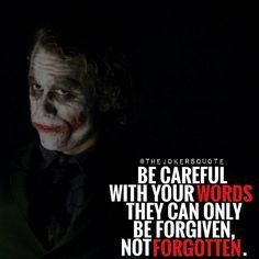 Careful  Must Follow @_Joker_Forever @TheJokersQuote @TheJokerSayings For Daily Motivation And Inspirational Quotes  #quote #villain #inspiration #motivation #motivational #business #boss #joker #thejoker #jokerfans #jokerlife #jokerlover #whysoserious #jokerquotes #jokerquote  #jokerquotesarethebest #kingofgotham #jaredleto #insanity #anarchy #dcvillain