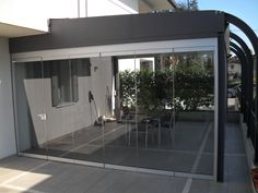 If you install the Giemme System to close off the perimeter wall, you can enjoy maximum flexibility of the folding doors that open up completely and allow you to stay in touch with the garden in the summer months. Glass Structure, Conservatories, Folding Doors, Create Space, Summer Months, Open Up, Flexibility, Gazebo, Landscapes