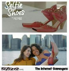 Selfie shoes   PMSLweb