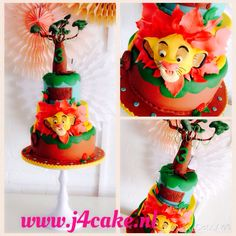 Lion King Cake..inspired by cakes I pinned