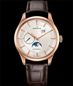 Cellini Jewelers Elite Moonphase 18K rose gold Automatic movement 40mm case