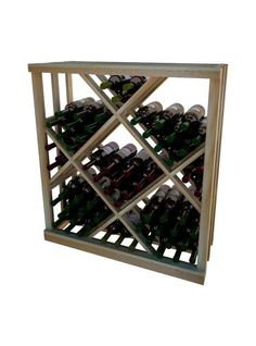 Vintner Series Open Diamond Bin Wine Rack - 3' Height